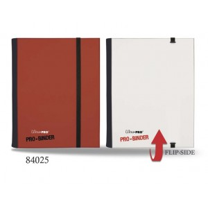 UP - Pro-Binder - 4-Pocket Portfolio - Red / White