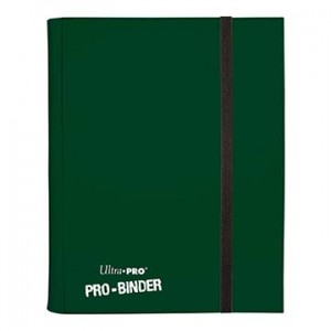 UP - Pro-Binder - 9-Pocket Portfolio - Dark Green