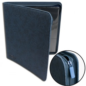 BF 12-Pocket Premium Zip-Album - Blue