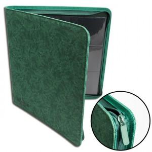 BF 12-Pocket Premium Zip-Album - Green