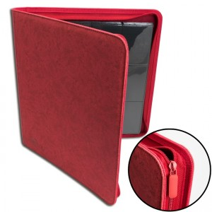 BF 12-Pocket Premium Zip-Album - Red