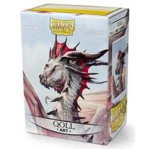Dragon Shield Art - Qoll  (100 Sleeves)