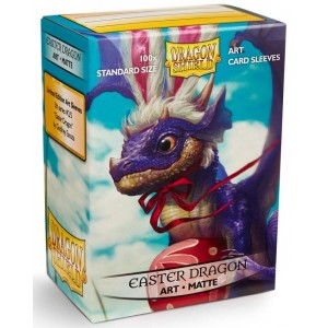 Dragon Shield Art - Matte Easter Dragon  (100 Sleeves)