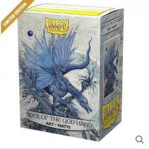 Dragon Shield Art - Matte Seer of the God Hand (100 Sleeves)
