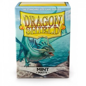 Dragon Shield Sleeves - Matte Mint (100 Sleeves)