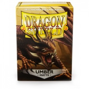 Dragon Shield Sleeves - Matte Umber (100 Sleeves)