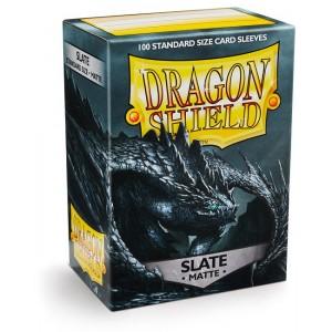 Dragon Shield Sleeves - Matte Slate (100 Sleeves)