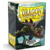 Dragon Shield Sleeves - Matte Green (100 Sleeves)
