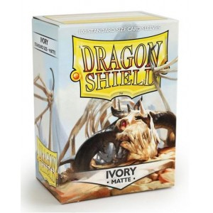 Dragon Shield Sleeves - Matte Ivory (100 Sleeves)