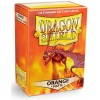 Dragon Shield Sleeves - Matte Orange (100 Sleeves)