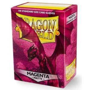 Dragon Shield Sleeves - Matte Magenta (100 Sleeves)