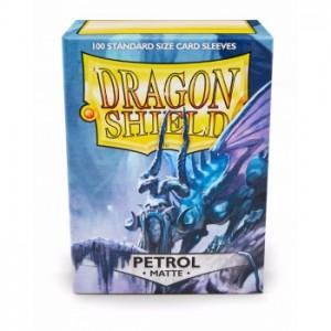 Dragon Shield Sleeves - Matte Petrol (100 Sleeves)
