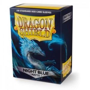 Dragon Shield Sleeves - Matte Night Blue