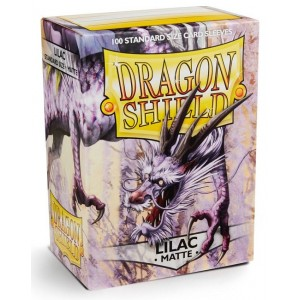 Dragon Shield Sleeves - Matte Lilac (100 Sleeves)