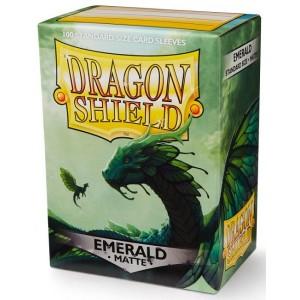 Dragon Shield Sleeves - Matte Emerald (100 Sleeves)