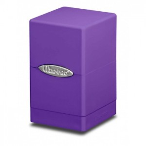 UP Satin Tower Deck Box - Purple