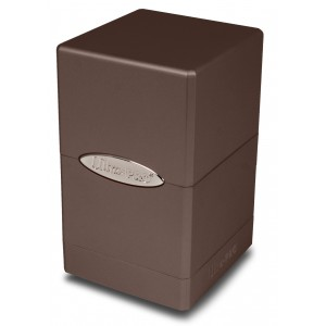 UP Satin Tower Deck Box - Metallic Dark Chocolate