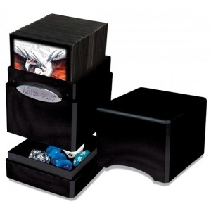 UP Satin Tower Deck Box - Hi-Gloss Midnight
