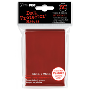 UltraPRO obaly - červená