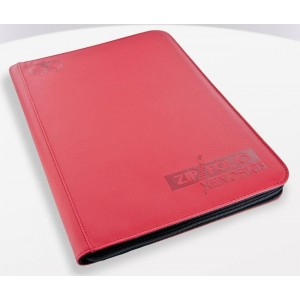 UG ZipFolio 9-Pocket XenoSkin Red