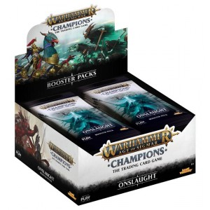 Warhammer Age of Sigmar: Onslaught Booster box