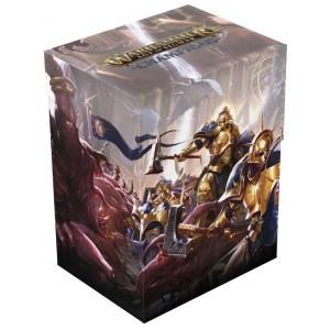 UG Warhammer Deck Box Divine Blast