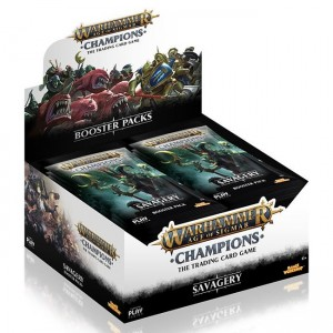 Warhammer Age of Sigmar: Savagery Booster box