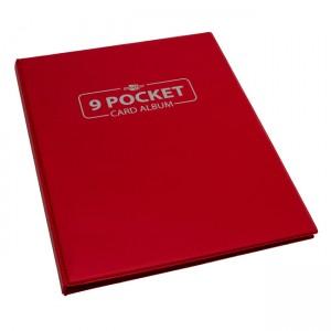 BF - 9 Pocket Card Album - Red