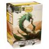 Dragon Shield Art - Matte Summer Dragon (100 Sleeves)