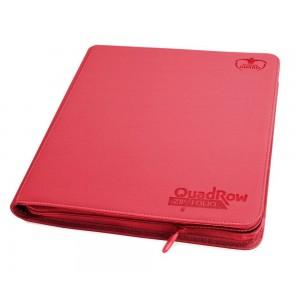 UG ZipFolio 12-Pocket QuadRow XenoSkin Red